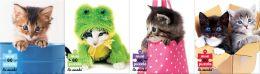 Kitties 4 Pack 60 Piece Puzzles
