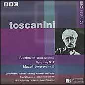 Beethoven: Missa Solemnis; Symphony No. 5;  Mozart: Symphony No. 35
