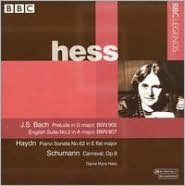 J.S. Bach: English Suite No. 2; Haydn: Piano Sonata No. 62; Schumann: Carnaval, Op. 9
