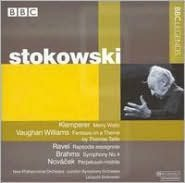 Stokowski Conducts Klemperer, Vaughan Williams, Ravel, Brahms, Novácek