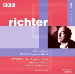 Haydn: Piano Sonata; Prokofiev: Piano Sonatas; Légende; 10 Visions fugitives