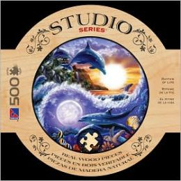 Wood Puzzle - Studio Series 500 PCS