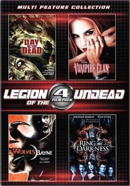 4 Film Legion Of The Undead Set