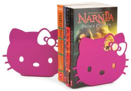 Hello Kitty Pink Metal Bookends Set Of 2