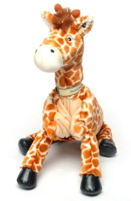 Jafaru the Giraffe - Zoobie Pet Gift Set