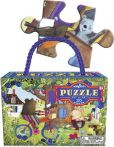 Product Image. Title: Bear on a Bicycle 20 pc puzzle