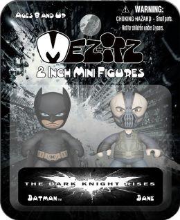 Dark Knight Rises 2 Inch Mezitz 2 paks Batman/Bane