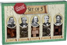 Great Minds Set of 5