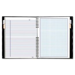 Rediform A44C81 NotePro Quad Ruled Notebook 9-1/4 x 7-1/4 White 192 Sheets/Pad