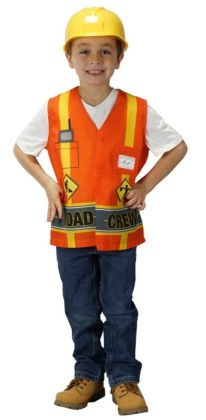 My First Career Gear - Road Crew Toddler Costume: Toddler 3/5