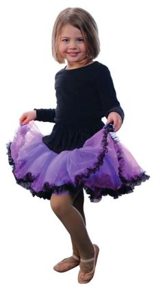 Tutu, Purple/Black, size 4/6