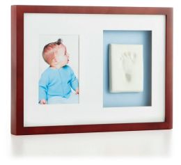Babyprints Wall Frame - Mahogany
