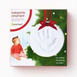 Babyprints Holiday Ornament