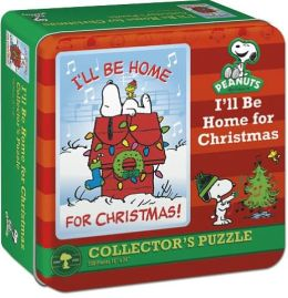 Charlie Brown I'll Be Home For Xmas Puzzle