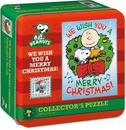 Charlie Brown We Wish You A Merry Xmas Puzzle