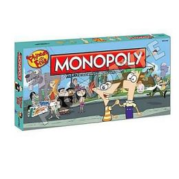Phineas & Ferb Collector's Edition Monopoly