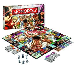 Streetfighters Collector's Edition Monopoly