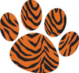 Ashley Productions ASH10216 Magnet Clips Tiger