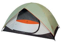 Alps Mountaineering 5421639 Meramac 4 Person Sage-Rust Camping Tent