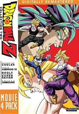 Dragonball Z: Movie 4 Pack - Collection Two