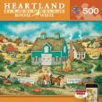 Product Image. Title: Piles of Pumpkins - Heartland 500pc