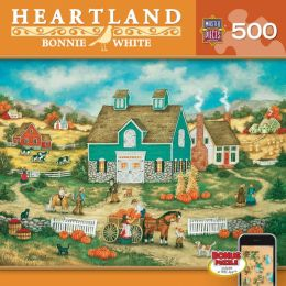 Piles of Pumpkins - Heartland 500pc