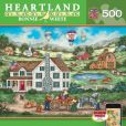 Product Image. Title: Packing a Picnic - Heartland 500pc