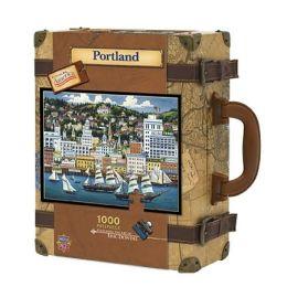 PORTLAND Dowdle Luggage 1000 pc Jigsaw Puzzle