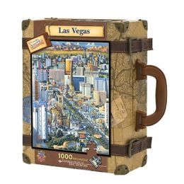 LAS VEGAS-Dowdle Luggage 1000 pc Jigsaw Puzzle