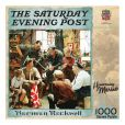 Product Image. Title: Saturday Evening Post Homecoming Marine 1000 Piece Puzzle