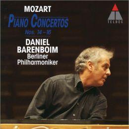 Mozart: Piano Concertos Nos 14-16