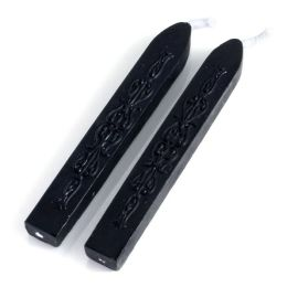 Black Double Pack of Flexi Sealing Wax With Wick