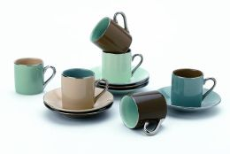 Birch Espresso Cup & Saucer Gift Set, 2.5 oz