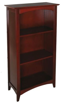 Avalon Tall Bookshelf - Cherry