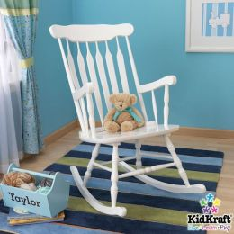 Adult Rocking Chair-White