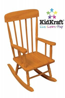 Spindle Rocking Chair - Honey