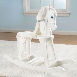 Derby Rocking Horse - White