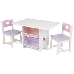 Table and Chair Set - Heart