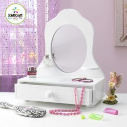White Tabletop Vanity