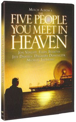 five people you meet in heaven dvd:
