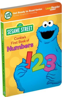 LeapFrog Tag Junior Sesame Street: Cookie's First Book of Numbers