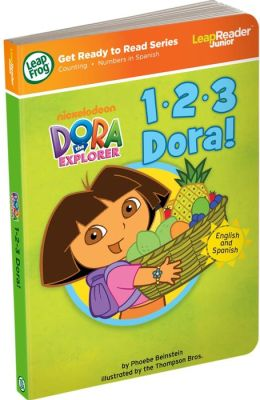 LeapFrog LeapReader Junior Book: 1, 2, 3 Dora (works with Tag Junior)