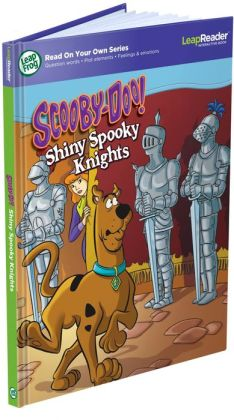 LeapFrog LeapReader Book: ScoobyDoo! Shiny Spooky Knights (works with Tag)