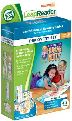 LeapFrog LeapReader Interactive Human Body Discovery Set (works with Tag)