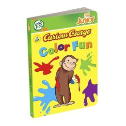 LeapFrog Tag Junior Book: Curious George Color Fun