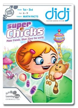 LeapFrog Didj Custom Learning Game Super Chicks!