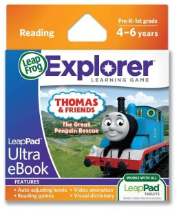 LeapFrog® LeapPad Ultra eBook Adventure Builder: Thomas and Friends: The Great Penguin Rescue