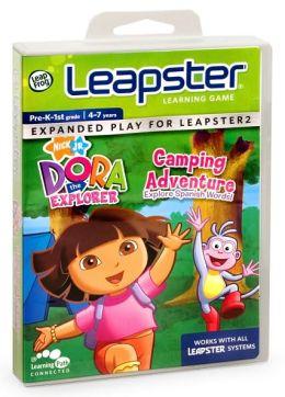 LeapFrog Leapster Learning Game: Dora's Camping Adventure