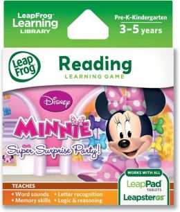 LeapFrog® Explorer Learning Game: Disney Minnie's Bow-tique Super Surprise Party