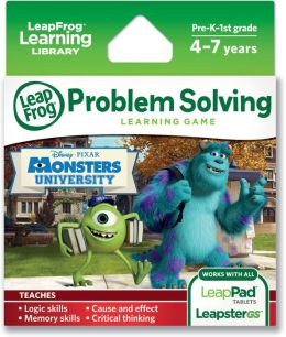 LeapFrog Explorer Learning Game: Disney Pixar Monsters University
